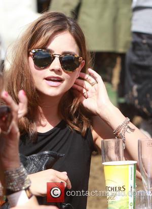 Jenna Louise Coleman - Glastonbury Festival 2014 - Celebrities - Glastonbury, United Kingdom - Friday 27th June 2014