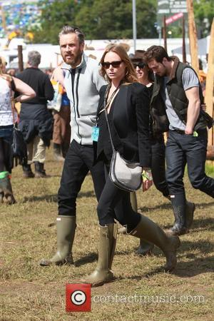 Stella McCartney - Glastonbury Festival 2014 - Celebrities - Glastonbury, United Kingdom - Friday 27th June 2014