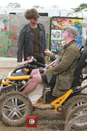 Paolo Nutini - Glastonbury Festival 2014 - Celebrities and atmosphere. - Glastonbury, United Kingdom - Friday 27th June 2014