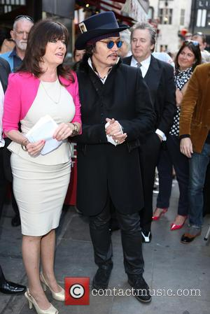 Vicki Michelle and Adam Ant - Brian Epstein honoured with Blue Plaque at the site where Epstein's company NEMS occupied...
