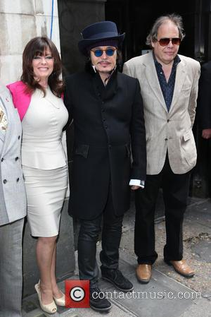 Vicki Michelle, Adam Ant and David Stark - Brian Epstein honoured with Blue Plaque at the site where Epstein's company...