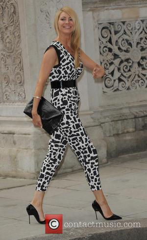 Tess Daly - Celebrities arriving at Best of British Reception - London, United Kingdom - Monday 30th June 2014