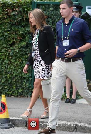 Kim Sears - Kim Sear outside Wimbledon today - London, United Kingdom - Monday 30th June 2014