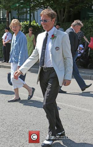Cliff Richard - Cliff Richard outside Wimbledon today - London, United Kingdom - Tuesday 1st July 2014