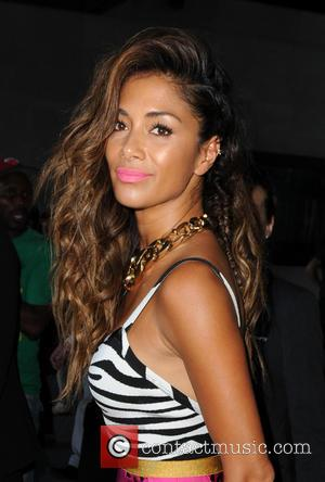 Nicole Scherzinger - Nicole Scherzinger at BBC Studios in London - London, United Kingdom - Thursday 3rd July 2014