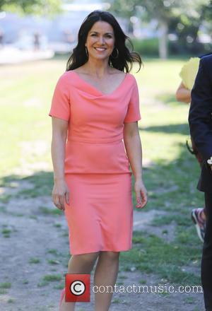 Susanna Reid - Susanna Reid filming Good Morning Britain on the Southbank - London, United Kingdom - Thursday 3rd July...