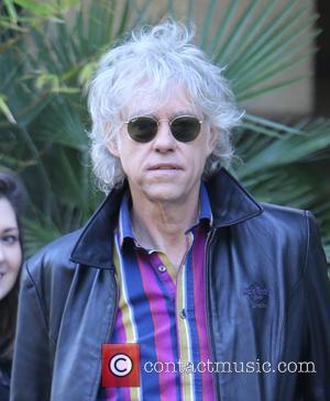 Bob Geldof - Celebrities at the ITV studios