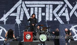 Anthrax, Joey Belladonna, Scott Ian and Frank Bello