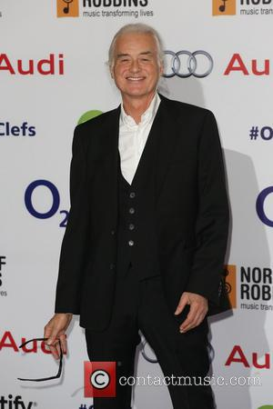 Jimmy Page - The Nordoff Robbins Silver Clef Awards 2014