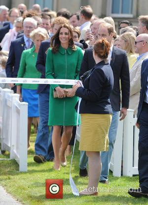 Kate Middleton, Catherine Duchess of Cambridge and Prince William Duke of Cambridge - British Royals attend the ceremonial start of...