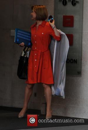Sian Williams - Celebrities outside the BBC studios - London, United Kingdom - Sunday 6th July 2014