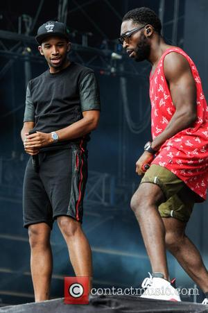 Tinie Tempah - Wireless Festival 2014 - Day 3 - Performances - Tinie Tempah - Birmingham, United Kingdom - Sunday...