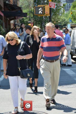 Taylor Swift, Scott Swift, Andrea Finley and Andrea Finlay - Taylor Swift spotted out in New York wearing all black...