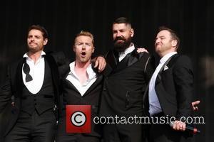 Boyzone, Keith Duffy, Mikey Graham, Ronan Keating and Shane Lynch
