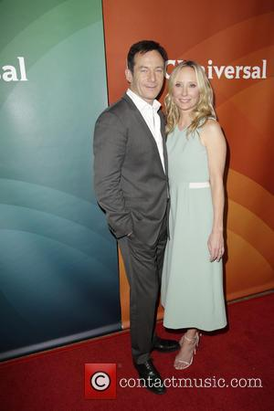 Jason Isaacs and Anne Heche - Celebrities attend NBCUniversal's 2014 Summer TCA Tour - Day 2 - Arrivals at THE...
