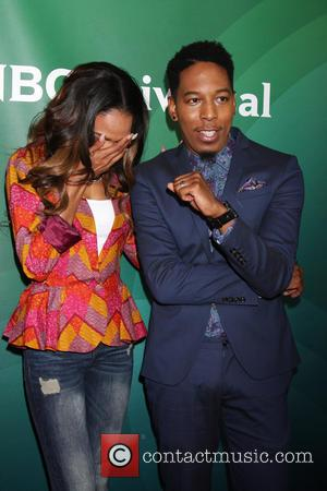 Michelle Williams and Deitrick Haddon - 2014 NBCUniversal Press Tour held at The Beverly Hilton hotel - Day 2- Arrivals...