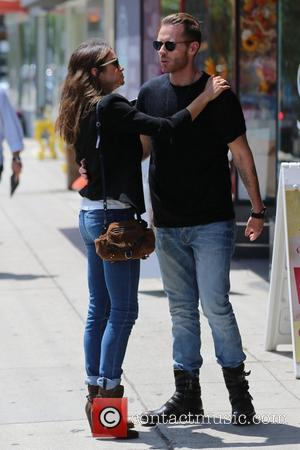Nikki Reed - Nikki Reed takes a romantic stroll with a male friend after eating lunch at Joan's On Third...