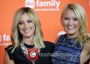 Ashley Tisdale and Emily Osment - Disney | ABC TCA 2014 Summer Press Tour at Beverly Hilton Hotel - Los...
