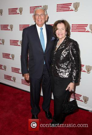 Eli Broad and Edythe Broad - American Friends of the Israel Philharmonic Orchestra honor Hans Zimmer at Wallis Annenberg Center...