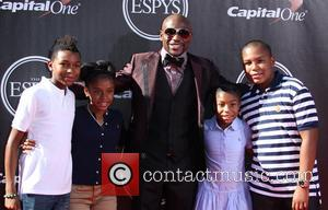 Floyd Mayweather Jr and Family - 2014 ESPYS Awards - Arrivals - Los Angeles, California, United States - Wednesday 16th...