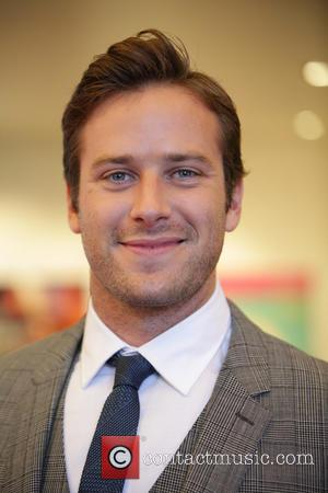 Armie Hammer Nursing Black Eye After Boxing Bout