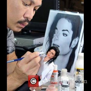 Michael Jackson and Noel Cruz - Accomplishing this feat requires many photos of the famous person/character, plenty of time, and...