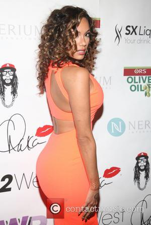 Erica Mena - Wendy Williams 50th birthday party? with a legendary performance by Chaka Khan at The OUT Hotel -...