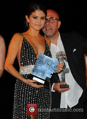 Selena Gomez and Paolo Virzì - Selena Gomez is awarded with the Ischia Kids Global Icon award during the 2014...