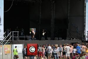 Ashley Roberts and Atmosphere - Guilfest 2014 - Day 2 - Performances - Ashley Roberts - Surrey, United Kingdom -...