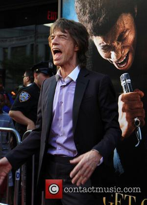 Mick Jagger - New York premiere of 'Get On Up' held at The Apollo Theater - Arrivals - New York...