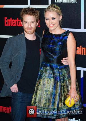Seth Green and Claire Grant - Entertainment Weekly Party held at the Hard Rock Hotel - Arrivals - San Diego,...