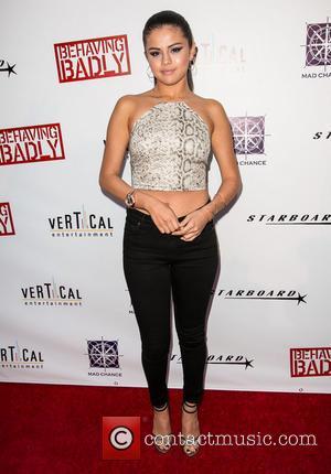Selena Gomez - Special screening of 'Behaving Badly' held at ArcLight Cinemas - Arrivlas - Los Angeles, California, United States...