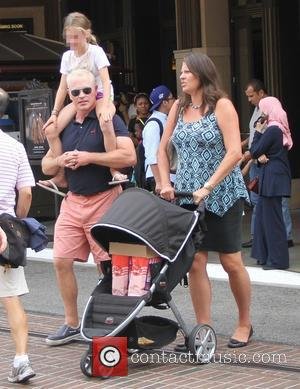 Neal Mcdonough Catches Wife In Stage Fall