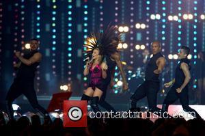 Kylie Minogue - The 2014 Glasgow Commonwealth Games -  Day 11 - Closing Cermony - Glasgow, United Kingdom -...
