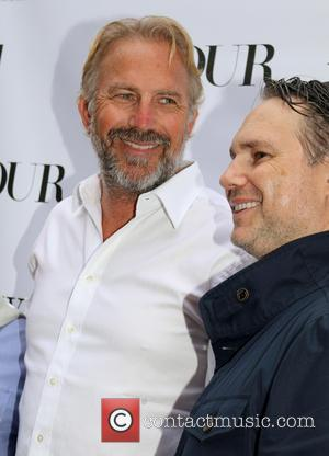 Kevin Costner and Jason Binn - DuJour Magazine's screening of 'Black and White' held at UA Cinema in East Hampton...