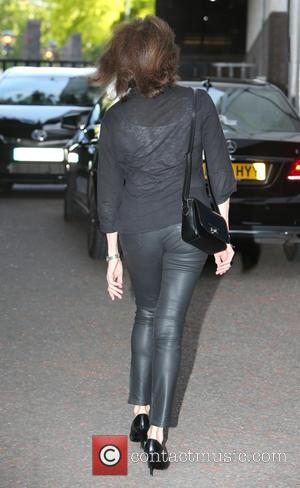 Jacqueline Bisset - Jacqueline Bisset outside ITV Studios - London, United Kingdom - Monday 4th August 2014