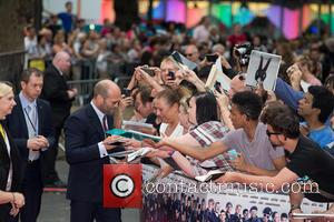 Jason Statham - The Expendables 3 - World premiere held at the Odeon Cinema - Arrivals - London, United Kingdom...