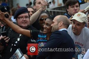 Jason Statham - The Expendables 3 - UK film premiere held at the Odeon cinema - Arrivals - London, United...