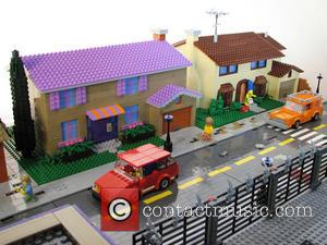 Iconic Simpson's - Iconic Simpson's town of Springfield recreated in...