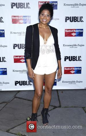 Rebecca Naomi Jones - Opening night of 'King Lear' held at the Delacorte Theater - Arrivals - New York City,...