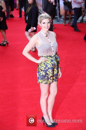 Ashley James - 'The Inbetweeners 2' - World Premiere held at Vue Cinema West End - Arrivals - ESSEX, United...