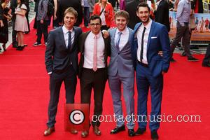Joe Thomas, Simon Bird, James Buckley and Blake Harrison - 'The Inbetweeners 2' - World Premiere held at Vue Cinema...