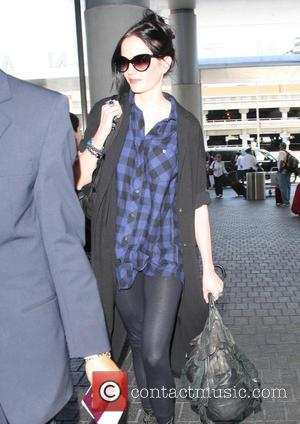 Eva Green - Eva Green at Los Angeles International Airport...