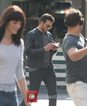 Bradley Cooper - Bradley Cooper filming scenes fro his upcoming movie 'Adam Jones' - London, United Kingdom - Thursday 7th...