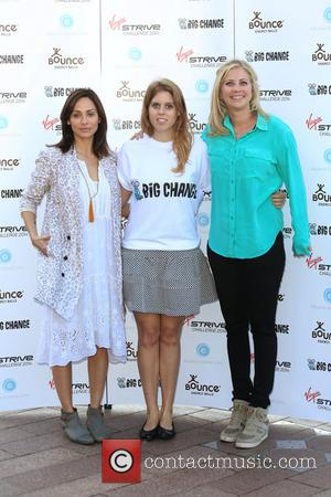 Natalie Imbruglia, Princess Beatrice of York and Holly Branson - Virgin STRIVE Challenge - start photocall held at the O2...