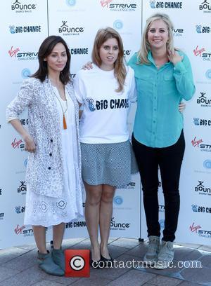 Natalie Imbruglia, Princess Beatrice and Holly Branson - Virgin Strive Challenge 2014 - Photocall - London, United Kingdom - Thursday...
