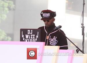 DJ Wizz Kidd - Iggy Azalea performs live on NBC's 'The Today Show' for the Toyota Summer Concert series -...