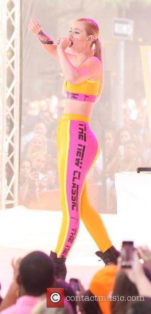Iggy Azalea - Iggy Azalea performs live on NBC's 'The Today Show' for the Toyota Summer Concert series - New...