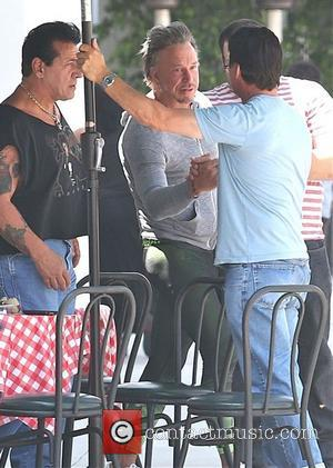 Mickey Rourke Explains Putin T-shirt Was For Charity