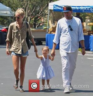 Delilah del Toro and Ruby Stewart - Kimberly Stewart takes daughter Delilah to a Beverly Hills Farmer's Market to buy...